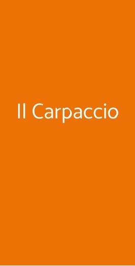 Il Carpaccio, Milano