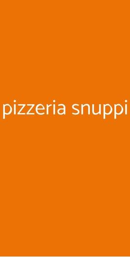 Pizzeria Snuppi, Milano