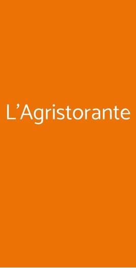 L'agristorante, Milano