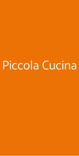 Piccola Cucina a Milano - Menù, prezzi, recensioni del ...