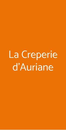 La Creperie D'auriane, Milano