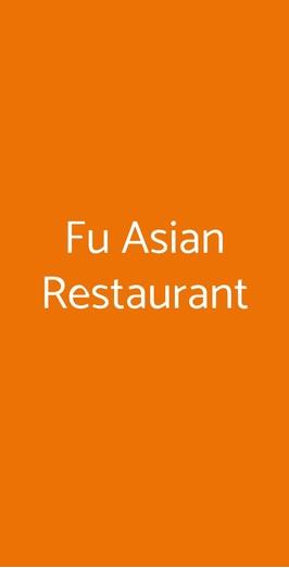 Fu Asian Restaurant, Milano
