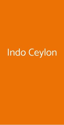 Indo Ceylon, Milano