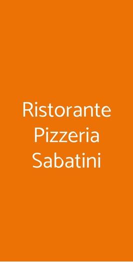 Ristorante Pizzeria Sabatini, Milano