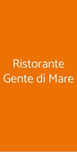 Ristorante Gente Di Mare, Milano