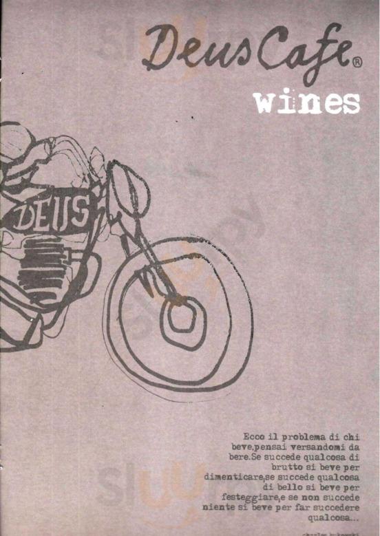 Deus Cafe, Milano