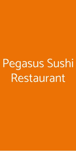 Pegasus Sushi Restaurant, Milano
