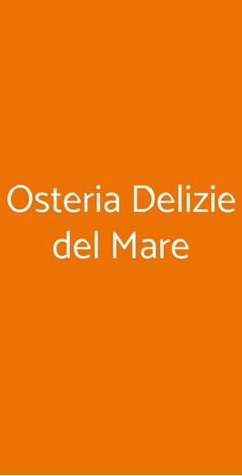 Osteria Delizie Del Mare, Milano