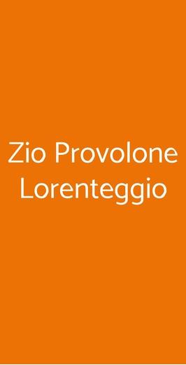 Zio Provolone Lorenteggio, Milano