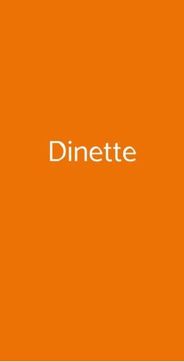 Dinette, Milano