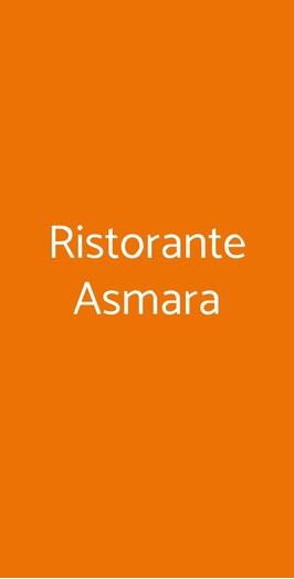 Ristorante Asmara, Milano