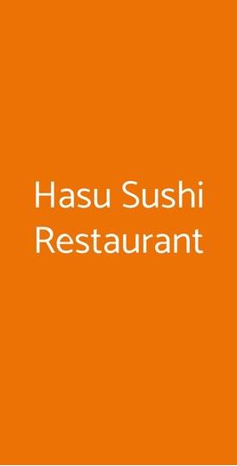 Hasu Sushi Restaurant, Milano