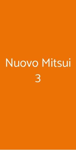 Nuovo Mitsui 3, Milano