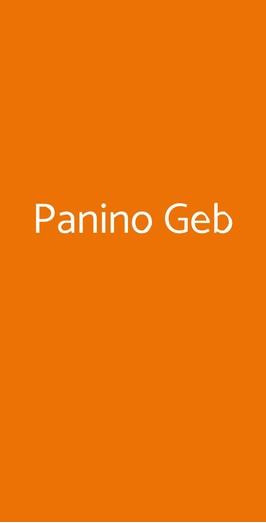 Panino Geb, Milano