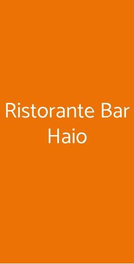 Ristorante Bar Haio, Milano