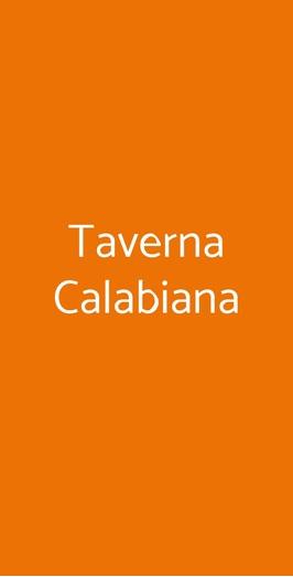 Taverna Calabiana, Milano