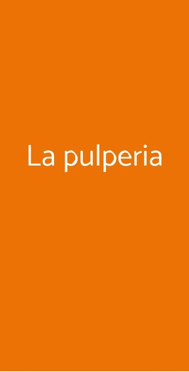 La Pulperia, Milano