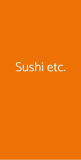 Sushi Etc., Milano