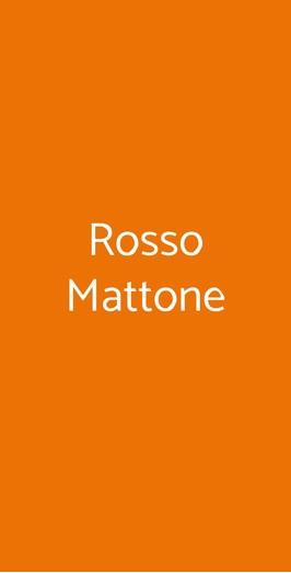 Rosso Mattone, Milano