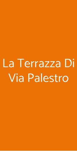 La Terrazza Di Via Palestro A Milano Menù Prezzi