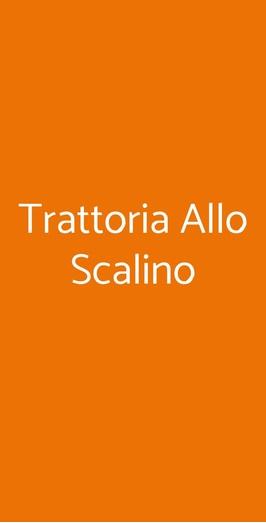 Trattoria Allo Scalino, Milano