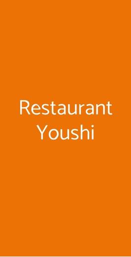 Restaurant Youshi, Milano
