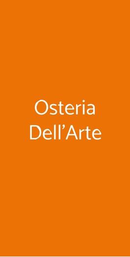 Osteria Dell'arte, Milano
