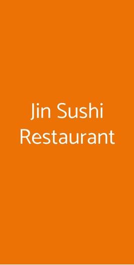 Jin Sushi Restaurant, Milano