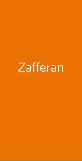 Zafferan, Milano
