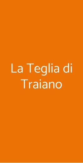La Teglia Di Traiano, Milano
