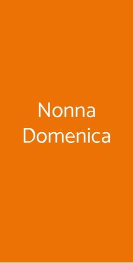 Nonna Domenica, Milano