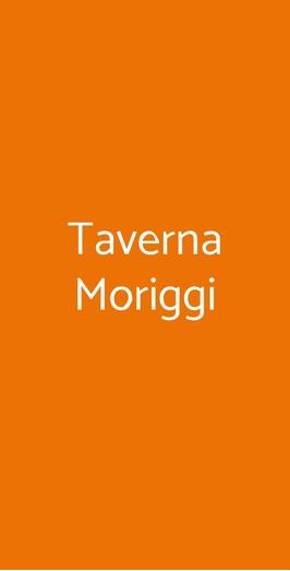 Taverna Moriggi, Milano