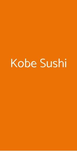 Kobe Sushi, Milano