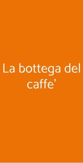 La Bottega Del Caffe', Milano