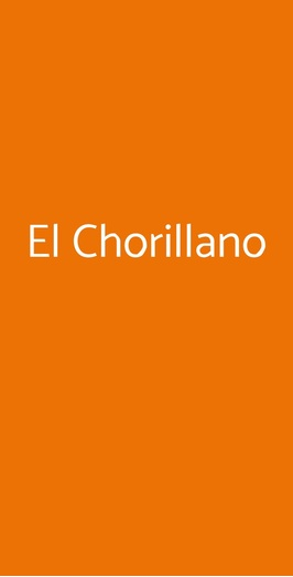 El Chorillano, Milano