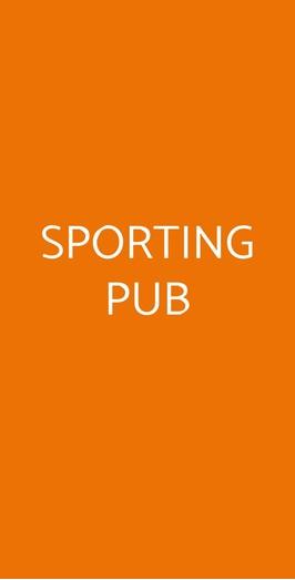 Sporting Pub, Milano
