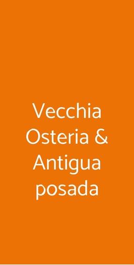 Vecchia Osteria & Antigua Posada, Milano