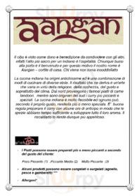 Ristorante Indiano Aangan, Milano