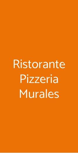 Ristorante Pizzeria Murales, Milano