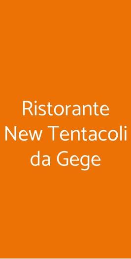 Ristorante New Tentacoli Da Gege, Milano