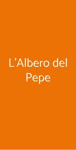 L'albero Del Pepe, Milano