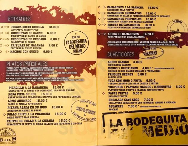 La Bodeguita Del Medio, Milano