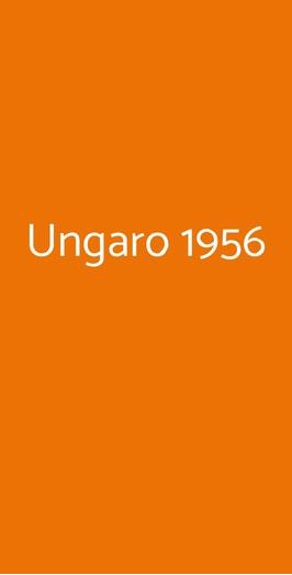 Ungaro 1956, Milano