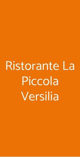 Ristorante La Piccola Versilia, Milano