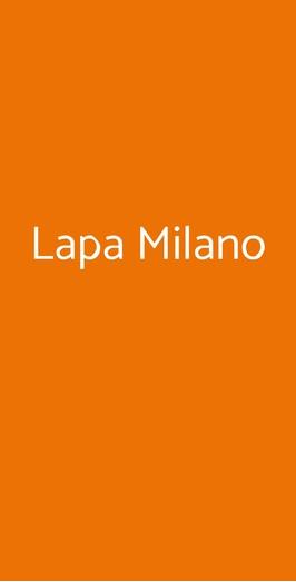 Lapa Milano, Milano