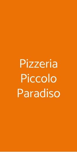 Pizzeria Piccolo Paradiso, Milano