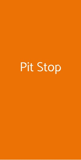 Pit Stop, Milano