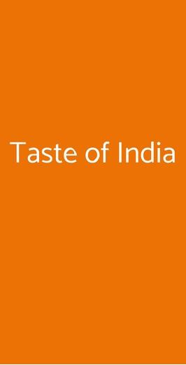 Taste Of India, Milano