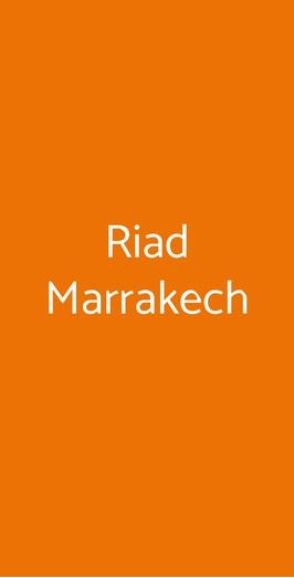 Riad Marrakech, Milano