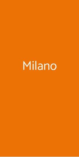 Milano, Milano